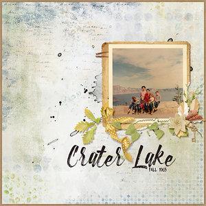 Crater Lake 1965