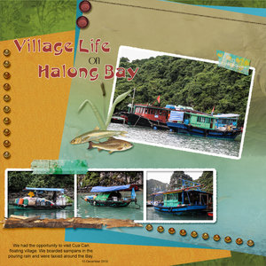 March Madness 2019 #4 - Village Life on Halong Bay