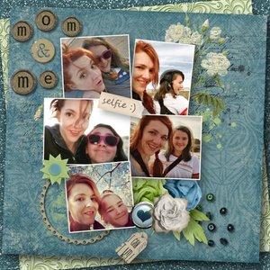 Selfie Mom & Alaina