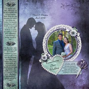 Remembering Their Wedding