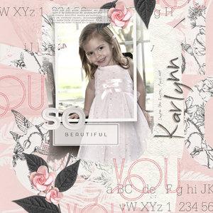 So Beautiful (JIFFY Page)
