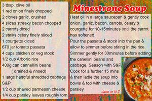 Feb recipe swap_minestrone soup