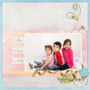 Alice, Elliott and Addy