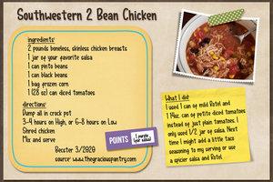Southwestern 2 Bean Chicken