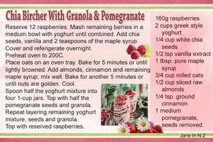 April recipe swap_chia bircher with granola