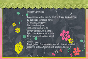 goosie_Mexican Corn Salad