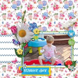 Summer Day (Heartmade Scrapbook)