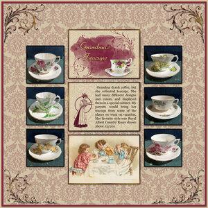 Grandma's Teacups