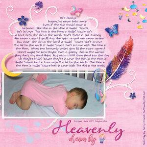 Heavenly - Sweet Dreams by Heartmade Scrapbook
