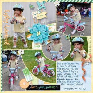 Bike Parade: Cool Summer by Heartmade Scrapbook