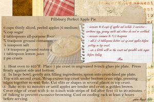 goosie Mom's Apple Pie