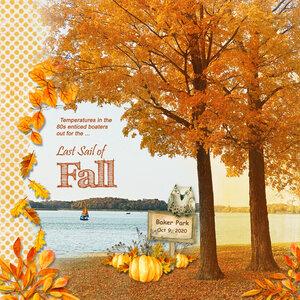 Last Sail of Autumn