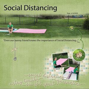 Project Life October 2020 Quarantine Book Ali Social Distancing