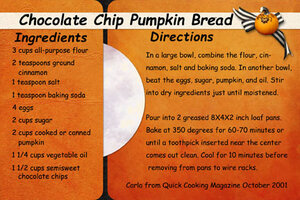 October Recipe Swap