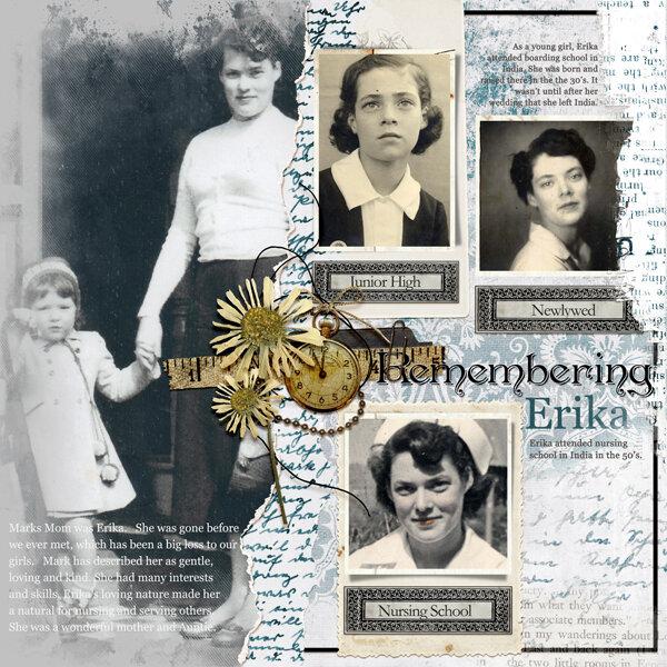 Remembering Erika