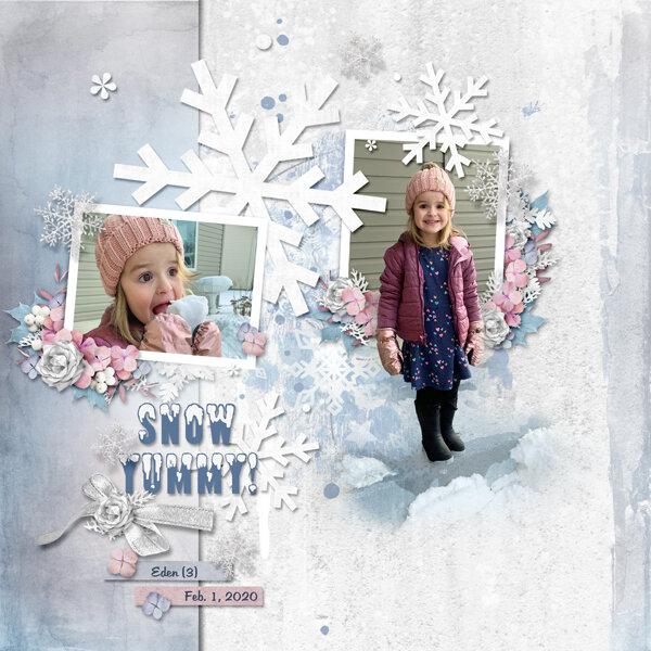 Snow Yummy!