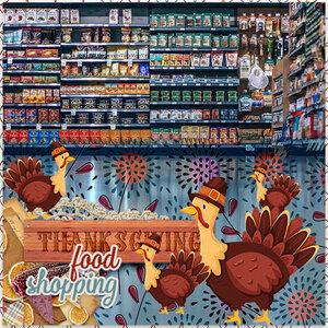 Thanksgiving shopping
