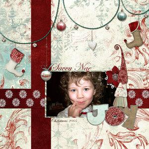 Tuesday Sketch Challenge_Savvy Nae_Christmas_2005