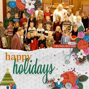 Sully CRC Christmas Program 2007