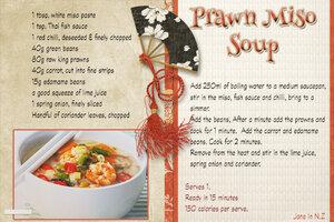 January recipe swap_Prawn Miso soup
