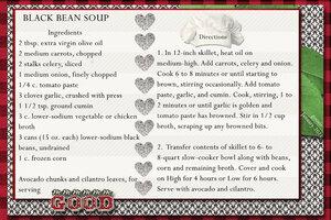 goosie Black Bean Soup