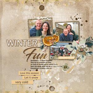 Featuring: Winter Fun & Warmth Of Winter