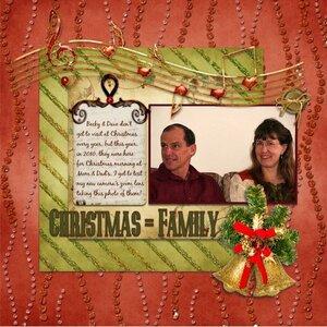 Christmas = Family