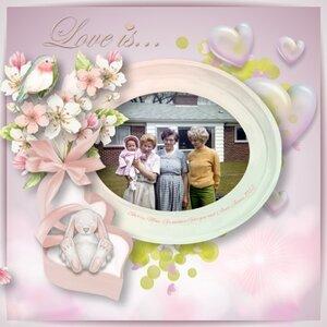 Bunny Love Goergen girls