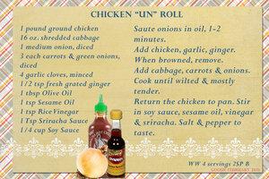 goosie Chicken Un Roll