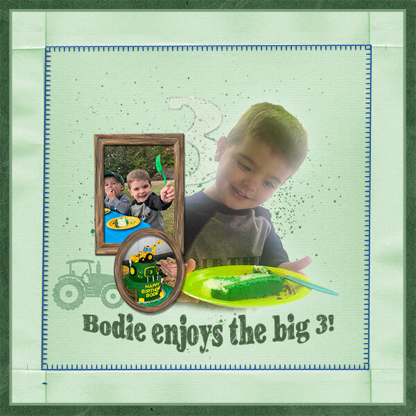 Bodie's Big 3 March Challenge 2-green