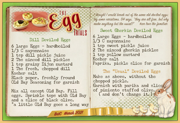 The Egg Trials