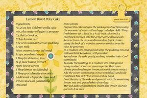 goosie_Lemon Burst Poke Cake