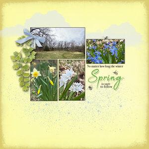 Spring - March Sketch Challenge
