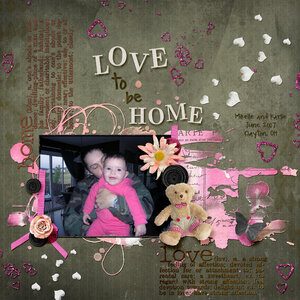 March Madness LO #3: Love to be Home