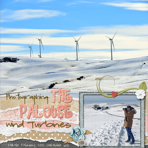 March Madness LO #1 - Palouse Wind Farm