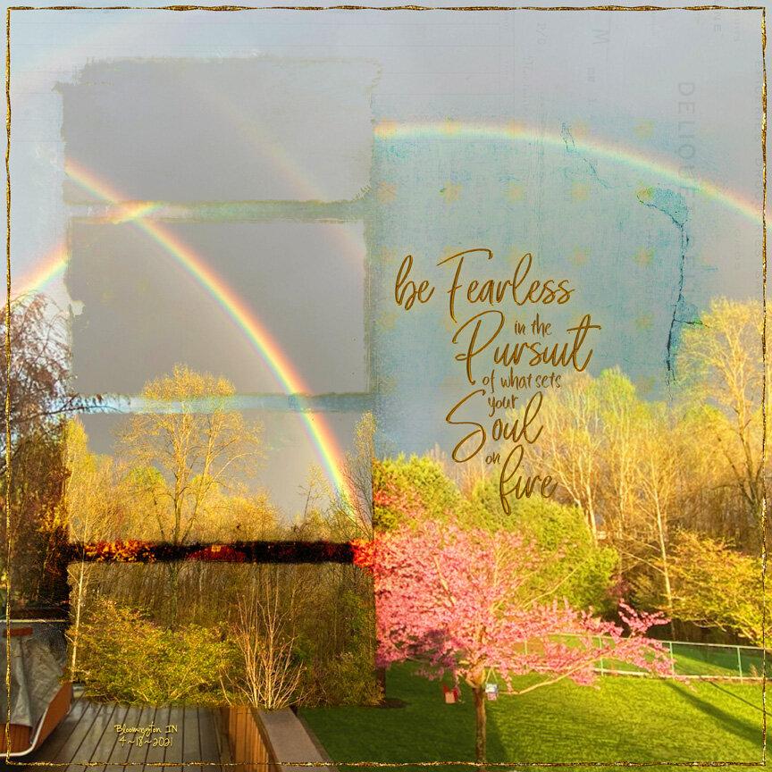 Weekend Challenge 4/24/21: Earth - Rainbow