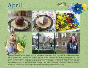 April Project Life