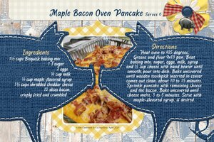 Celestine_Maple Bacon Oven Pancake