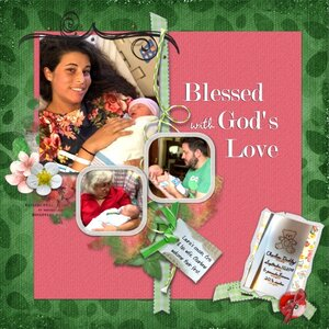 Blessed with God's Love