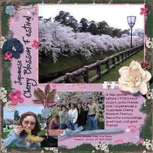 Weekend Wildcard - Hirosaki Cherry Blossom Festival
