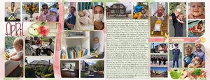 Project Life_April pg 1 &2