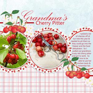 Grandma's Cherry Pitter
