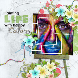 Painting Life with Happy Colors