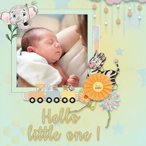 Hello little one.