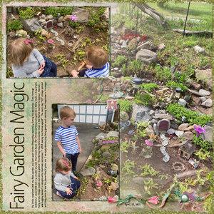 Weekend Challenge 5/15/21: Garden Joy - HH Fairies