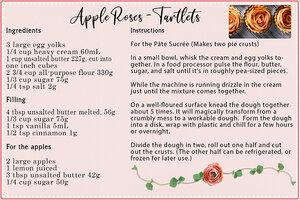Apple roses Tartlets - 1