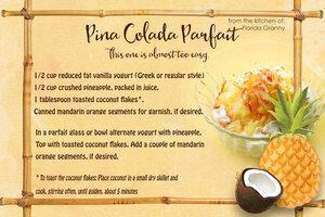 Pina Colada Parfait