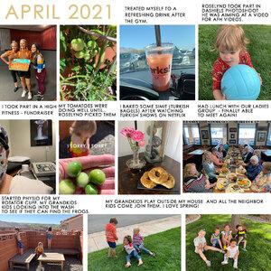 Project life April 2021