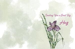 Pallet3 card flower