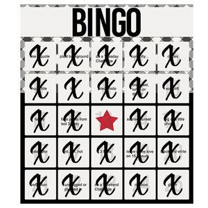 Bingo Card Completed!